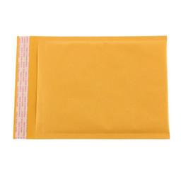 envío de correo urgente Rebajas Al por mayor-Nuevo estilo 110X130MM espacio utilizable Poly burbuja Mailer sobres acolchados bolsa de correo auto sellado