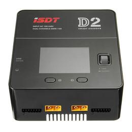 2019 ladegerätausgang Großhandel D2 200W 24A AC Dual Channel Ausgang Smart Battery Balance Ladegerät rabatt ladegerätausgang