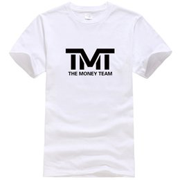 Wholesale Team T Shirts Wholesale - 2018 New Fashion T-shirt Pullover Summer Mens Tshirts TMT The Money Team Printing 9 Colors S-3XL Fast Delivery