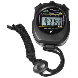 Contadores de tiempo online-RUNACC Cronómetro deportivo digital Cronómetro portátil Cronómetro deportivo multifuncional con pantalla numérica grande