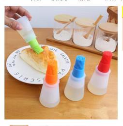 canetas de bolo Desconto Escova de óleo de Silicone Baking Brushes Líquido Óleo Pen Cake Manteiga Pão Pastelaria Pincel de Bicarbonato de Segurança Escova de Degelo De Segurança DHL Frete Grátis