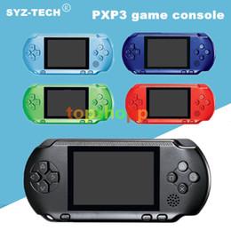Consola de mão de 16 bits on-line-Nova Chegada Jogador Do Jogo PXP3 (16 Bit) 2.6 Polegada Tela LCD Handheld Console Do Jogador De Vídeo Game 5 Cores Mini Jogo Portátil