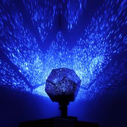 Lumière nocturne stroboscopique en Ligne-Les lumières du parti lumière stroboscopique DIY Jouet Science Humaine Saisonnier Étoile Sky Projecteur Projecteur Night Light Lampe Cadeau 376
