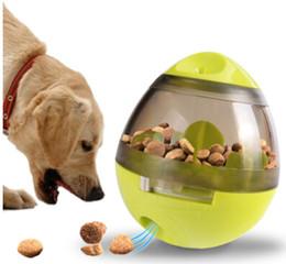 пластиковые шарики-головоломки Скидка Pet Dog Puzzle Toy Tumbler Leakage Ball Removable Dog Interactive Toys Funny Plastic Dog Feeder Green Pink