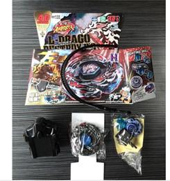 Wholesale Beyblade L - retail fashion BEYBLADE 4D RAPIDITY METAL FUSION Beyblades Toy Set L-Drago Destroy (Destructor) Metal Fury 4D Beyblade BB108 with package