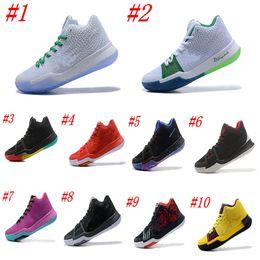 newest bdce1 16499 stivali da squadra Sconti 2018 New Kyrie Irving 3 Scarpe da basket per la vendita  a