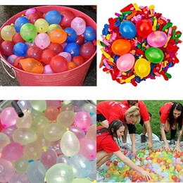 Wholesale funny ties - 111pcs Magnic Water Balloons Summer Outdoor Garden Beach Party Kids Funny Tied Toys Game Water Supply