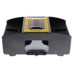 Wholesale Advance Accessories - Advanced Casino Robot Automatic Poker Card Shuffler Casino Game Playing Shuffling Machine Gift Funny Family Game Club Accessory