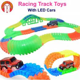 2019 поезд авто LovelyToo гоночные трассы автомобильные игрушки горячие колеса гибкий железнодорожный путь литья под давлением с Led автомобили модели поезд авто детские игрушки для детей скидка поезд авто