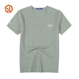 Wholesale Fat Clothing - Fashion Summer Style Plus Size Clothing Men's Fat Guys T Shirt Mens 6XL Casual O-neck Cotton Short Sleeve Men T-shirt Male