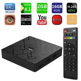 HK1 MiNI RK3229 2G 16G Android 8.1 OTT TV BOX Smart Media Player Streaming Media Player aggiornato MXQ PRO 4K da mxq 4k rk3229 smart tv fornitori