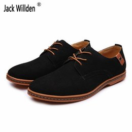 Wholesale Ivory Lace Flat Wedding Shoes - Fashion Men's Lace-Up Casual Breathable Light Oxfords Mens Dress Business Office Shoes Man Wedding Driving Flats EU Size 38-48