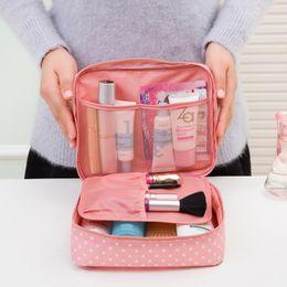 kit de fabrication de sac à main Promotion Sac de toilette portatif Cosmetic Waterproof Maquillage Maquillage Organisateur de lavage Zipper Pochette de rangement Kit de voyage Sac à main
