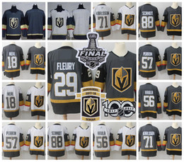 Wholesale waterproof dry - 2018 Stanley Cup Vegas Golden Knights 18 James Neal 29 Marc-Andre Fleury 56 Haula 57 Perron 71 William Karlsson 88 Schmidt Inaugural Jersey