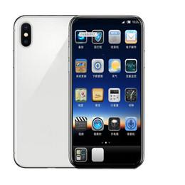 Quad sim online-Andriod phone ix xs 1GB RAM 4GB ROM MTK6580 Quad Core 5MP 5.5inch 3G WCDMA Andriod OS Sealed Box Fake 4G visualizzato