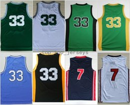 Wholesale college basketball teams - High Quality 33 Larry Bird Jersey 1992 USA Dream Team Indiana State Sycamores Basketball Larry Bird College Jerseys Sports