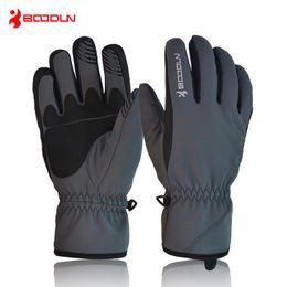Wholesale Bicycle Winter Gloves Waterproof - Thermal Fleece Ski Skiing Gloves Men Women Snowboard Motorcycle Groves Bicycle Cycling Winter Sports Waterproof Gloves Guantes de po