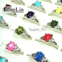 Wholesale bulk jewelry for sale - 30Pcs Hot! eBay Sale Rhinestone Silver Plated Rings for Women Jewelry Whole Bulk Packs Lots Free Shipping LR006