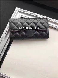 Wholesale Vogue Classic - New Plain Classic Criss-Cross Hasp Wallets Women Card Holders Vogue Black Long Wallets Free Shipping