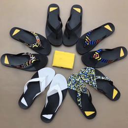 Wholesale Perfect Shower - Men's Leather Flip-Flops Beach Sandals Perfect Hit Color Summer New Fancy Original Rubber 38-45