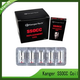 Argentina Atomizador de bobinas SSOCC Kanger 0.5 / 1.2 / 1.5 / 0.15 ohm Para Kangertech subox min Kit Subtank Mini V2 tanque 0266054-03 Suministro