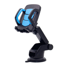 Suporte móvel móvel on-line-Top Quality Car Suporte Do Telefone Móvel Stand Dashboard Windshield Suporte Do Telefone Celular Pegajoso para iPhone X 8 7 6 Suporte Samsung GPS