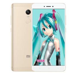 Original Xiaomi Redmi Note 4X 2GB RAM 16GB ROM 4G LTE Teléfono móvil Snapdragon 625 Octa Core 5.5inch 2.5D Glass 13.0MP Teléfono celular con huellas dactilares desde fabricantes