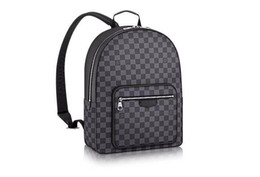 2019 cravate bagages N41473 New Josh Sac à dos Damier Toile Hommes Sac à dos BAGS BUSINESS TOTES MESSAGER BAGS SOFTSIDED BAGAGES SACS À MAIN cravate bagages pas cher