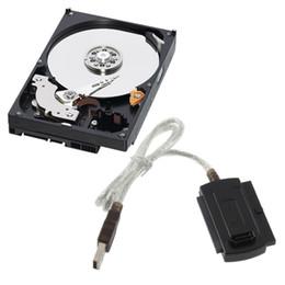Siyah USB 2.0 IDE SATA 5.25 S-ATA / 2.5 480 Mb / sn Veri Arabirimi USB IDE + SATAAdapter Kablo Dönüştürücü nereden ide dönüştürücü kablo tedarikçiler