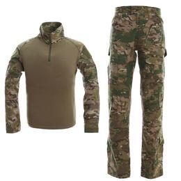 taktische uniformen Rabatt Military Camo Frogman Taktische Anzug Marines Camouflage Tactical Frog Kleidung Uniformen Männer Frauen Mit Schutzausrüstung CB9F1