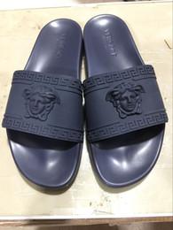f36d63970 2019 sandalias de la alta manera de los hombres Alta calidad de lujo  diseñador de la