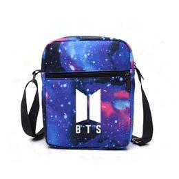 Bts Kpop Women Shoulder Bags For Women 2018 Luxury Handbags Bags Designer  Bts Korea Fashion Messenger Crossbody Bag 5b5e407941bba