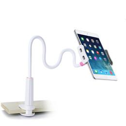 Samsung 3.5 inch онлайн-Гибкий настольный телефон Tablet стенд держатель для iPad Mini Air Samsung для Iphone 3.5-10.5 дюймов ленивый кровать Tablet PC стенды крепление