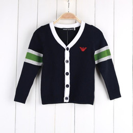 2019 sommerkleider junge 2018 Frühling Sommer Kinderbekleidung Jungen Mädchen mit Strickjacke süße Mode Kinder Kleider rabatt sommerkleider junge