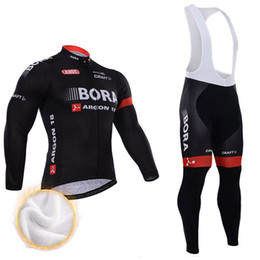 Winter Fleece Thermal Cycling Team KIt Bora Cycling Jersey Wear Clothing  Maillot Ropa Ciclismo Mtb Bike Bicycle Long Clothing 990a19fdf