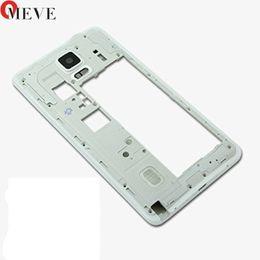Оригинальный корпус чехол запасные части для Samsung Galaxy Note 4 N910F/G/C / A средняя рамка пластины ободок середине шасси задняя панель от Поставщики чехол для иврита телефона