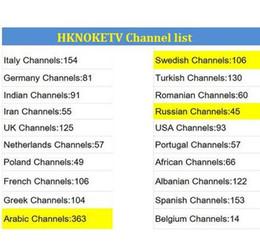 sport tv ao vivo Desconto Suécia iptv inteligente HKNOKETV Iptv Assinatura de 1 ano com canais de TV ao vivo de esportes frança itália reino unido gemany para android tv box
