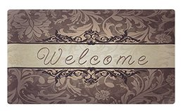 Моющийся коврик для спальни онлайн-Doormat Indoor Washable Welcome Mat For Front Porch Entrance Entryway Floor Mat Bedroom Carpet Home Kitchen Rug