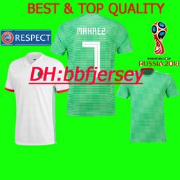 Tailandia 2018 equipo nacional Camisetas de fútbol Camisetas de fútbol  Argelia Riyad Mahrez Nabil Feghouli Soudani Copa del Mundo 2018 ALGERIE  Fútbol ... 992072030b197