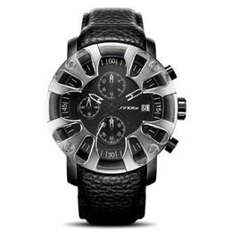 Deutschland Heiße luxuriöse Sportauto-Quarz-Uhr-kühle Männer, die Militäruhren-Reifenform dominieren, wasserdichtes einzigartiges Design Sportarmbanduhr steresocop cheap unique shaped watches Versorgung