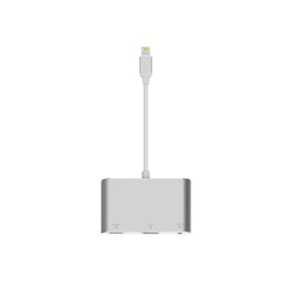 Vga-ausgangskabel online-Lightning zu HDMI VGA Audio Adapter Konverter, digitale AV-Kabel mit Audio-Ausgang für iPhone XS Max / XS / XR