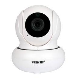 2019 caméra sans fil ptz caméra nocturne Wanscam HW0021-3 Caméra IP sans fil Wifi Caméra dôme PTZ Onvif 2.1 P2P 1080P IR Vision nocturne IR-Cut Radio bidirectionnelle caméra sans fil ptz caméra nocturne pas cher