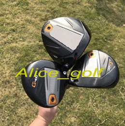 Wholesale Golf Clubs Fairway Woods - OEM quality golf driver G400 driver 3#5# Fairway woods with G400 ALTA graphite shaft stiff flex headcover wrench golf clubs