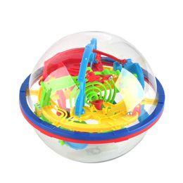 100 étapes 3D Magic Intelligence Labyrinthe Boules Enfants Jouets Équilibre Logique Capacité Jeu de Puzzle Intelligence Bébé Jouets D'apprentissage Éducatif Formation Jouet ? partir de fabricateur