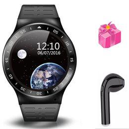 Wifi telefone wifi on-line-.smart assistir S99A VS KW88 KW98 telefone do relógio de pulso com slot para cartão sim WiFi GPS google play / map rastreador de fitness