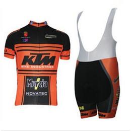 Argentina KTM LAMPRE team Ciclismo mangas cortas (bib) pantalones cortos conjuntos verano bicicleta de secado rápido jersey 60601 cheap lampre cycling jersey shorts Suministro