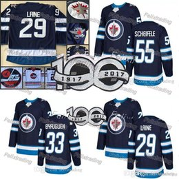 Wholesale Winnipeg Jersey - #29 Patrik Laine Jersey Jets Hockey Jerseys 55 Mark Scheifele 26 Blake Wheeler 33 Dustin Winnipeg Jets Patrik Laine Jersey