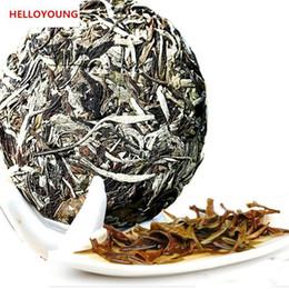 Зелёный чай онлайн-100 г сырой пуэр чай белый лунный свет Ароматные пуэр чай Органический Натуральный Пуэр чай торт зеленый еды старое дерево Пуэр Promotion