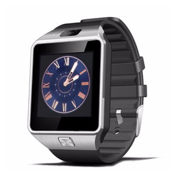 Wholesale 2g Gsm Sim Card - Bluetooth Smart Watch Smartwatch DZ09 Android Phone Call Relogio 2G GSM SIM TF Card Camera for iPhone Samsung HUAWEI PK GT08 A1