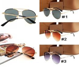 tops de modelos de oro Rebajas 2018 Nuevas gafas de sol de lujo 4271 Hombres Mujeres gafas de sol marco dorado marco cuadrado de metal estilo vintage marco grande modelo clásico de calidad superior